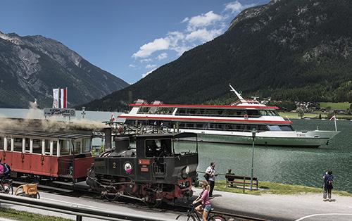 Parní železnice/ loď