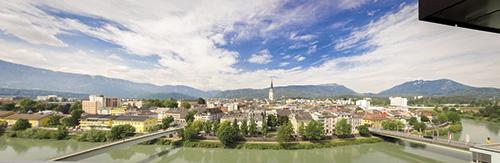 město Villach