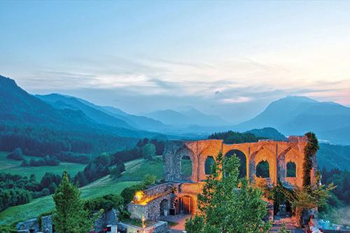 6 Top míst podél stezky Alpe-Adria