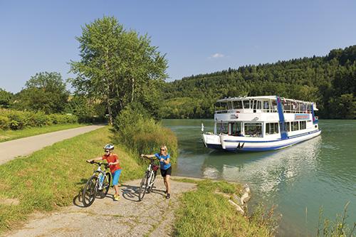 Řeka Dráva a Gail