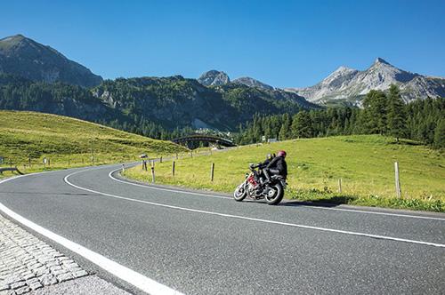 Motorkářské trasy