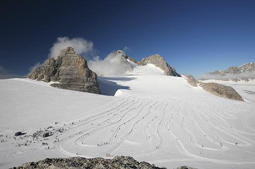 Turistika na ledovci
