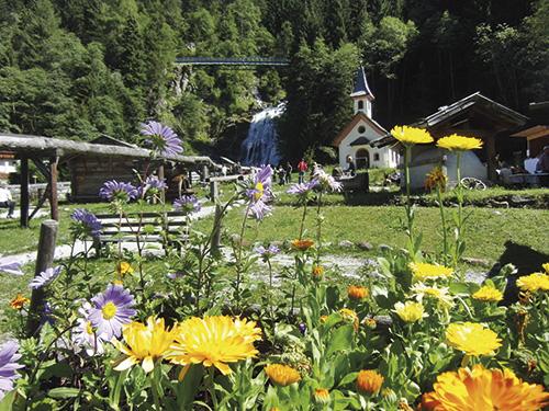 Horolezecká vesnice Gschnitz