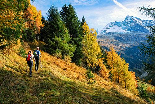 Lehká a vysokohorská turistika