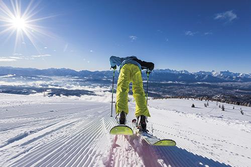 Prožijte krásnou zimní dovolenou v nejslunečnějším areálu Korutan!